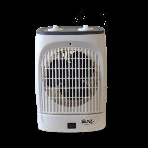 Bravo teplovzdušný ventilátor B-4623 s oscilací šedý