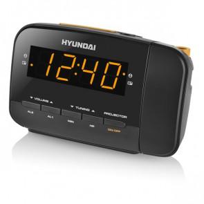 Radiobudík Hyundai RAC 481 PLLBO, černý/oranžový