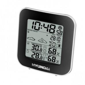 Meteorologická stanice Hyundai WS 8236, černá/stříbrná