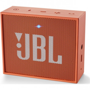 Přenosný reproduktor JBL GO, oranžový