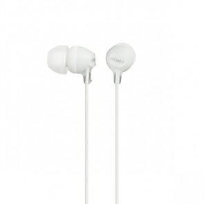 Sluchátka Sony MDREX15LPW.AE - bílá