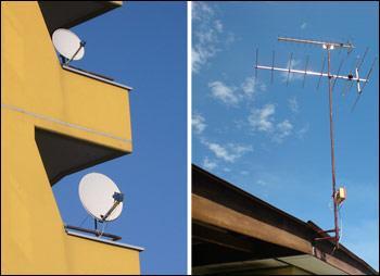 Instalace antén a satelitní techniky